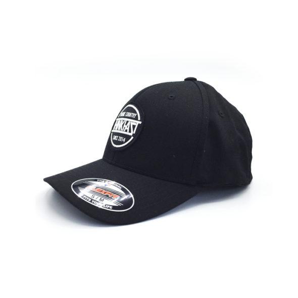 Gorra negra flexfit parche